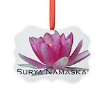 surya namaskar Picture Ornament