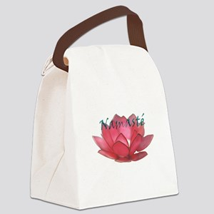 namasté copia Canvas Lunch Bag