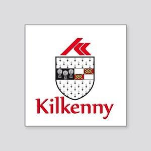 "kilkenny with name Square Sticker 3"" x 3"""