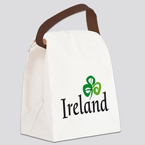 Ireland shamrock Canvas Lunch Bag