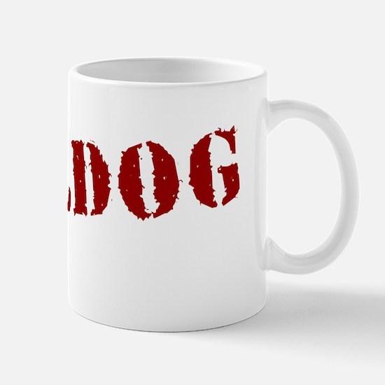 Bulldog Stamp Mug