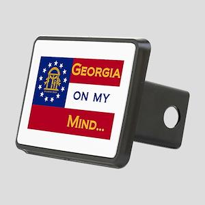 georgia on my ming Rectangular Hitch Cover