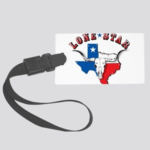 lone star_ copy Large Luggage Tag