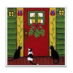 CATS At The Door ART Tile