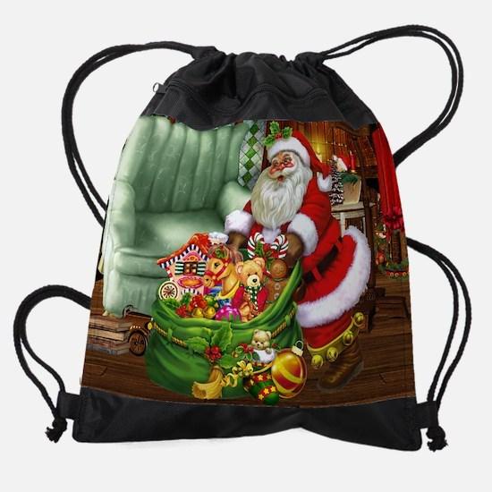 Santa Claus! Drawstring Bag