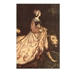 Rackham's Lady and Lion Postcards (Package of 8)
