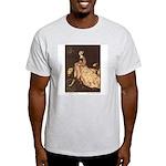 Rackham's Lady and Lion Ash Grey T-Shirt