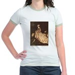 Rackham's Lady and Lion Jr. Ringer T-Shirt