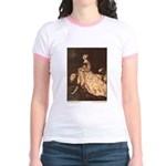 Rackham's Lady and Lion Jr. Ringer T-Shirt