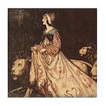 Rackham's Lady and Lion Tile Coaster