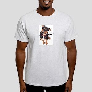 Puppy Ash Grey T-Shirt