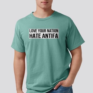 Love Your Nation Hate An Mens Comfort Colors Shirt
