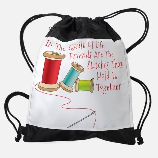 Quilt of Life Drawstring Bag