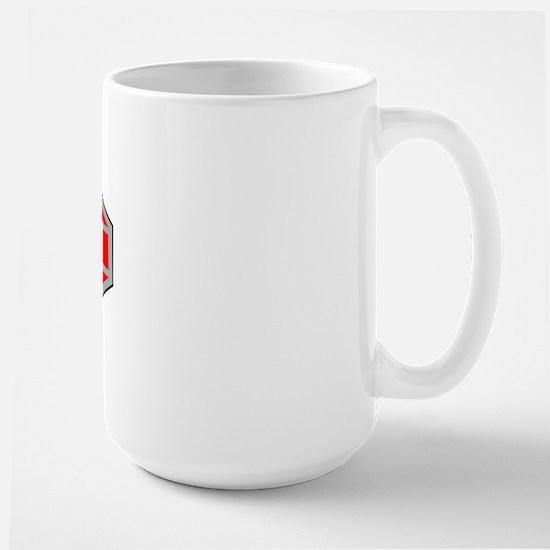 Large Aqua Culture Mug