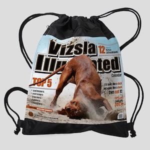 VizslaIllustrated_calendarprint Drawstring Bag