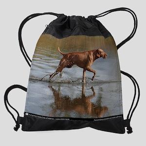 Rogan-water_CalendarPrint Drawstring Bag