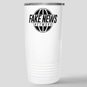 Fake News Network 16 oz Stainless Steel Travel Mug
