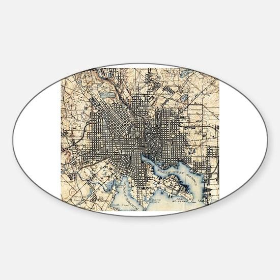Cute Baltimore Sticker (Oval)