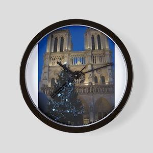 Notre Dame de Paris a NOEL Wall Clock