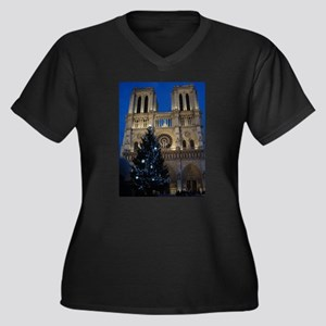 Notre Dame de Paris a NOEL Plus Size T-Shirt