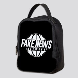 Fake News Network Neoprene Lunch Bag