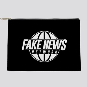 Fake News Network Makeup Pouch