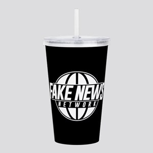 Fake News Network Acrylic Double-wall Tumbler