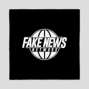 Fake News Network Queen Duvet