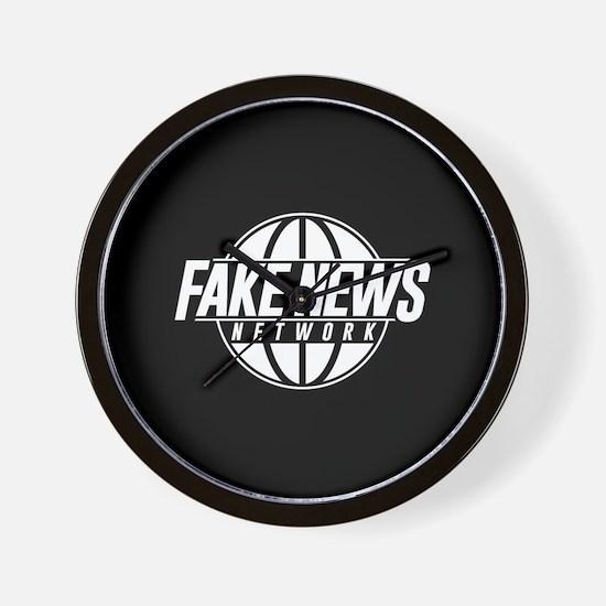Fake News Network Wall Clock
