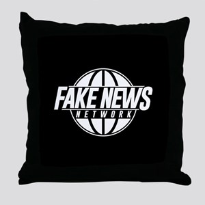 Fake News Network Throw Pillow