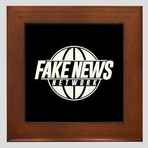 Fake News Network Framed Tile