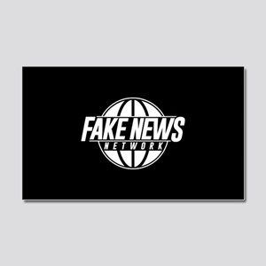 Fake News Network Car Magnet 20 x 12