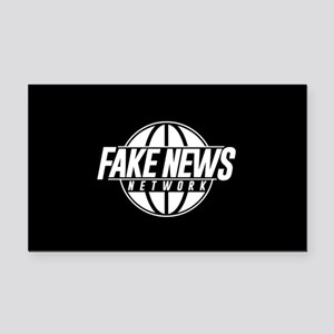 Fake News Network Rectangle Car Magnet