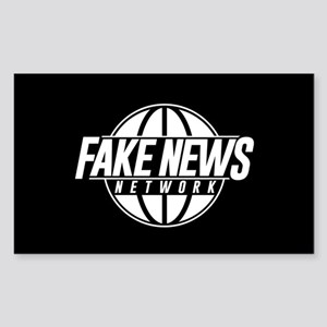 Fake News Network Sticker (Rectangle)