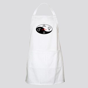 """Definition of Marriage"" BBQ Apron"