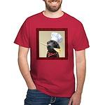 Black Labrador Chef Dark T-Shirt