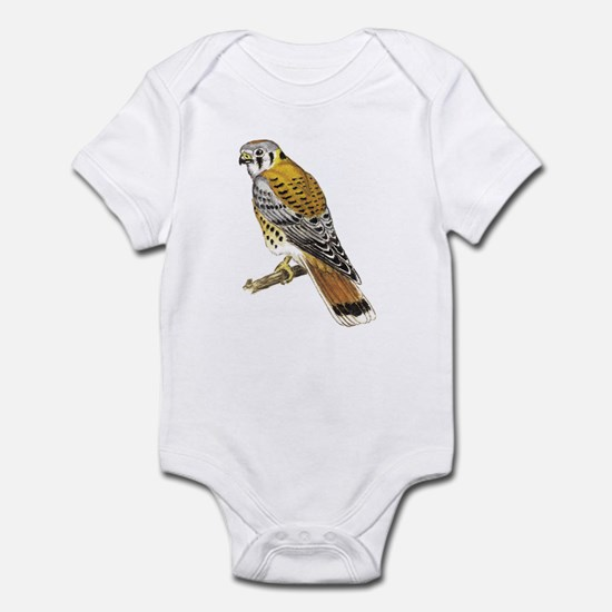 American Kestrel (Front only) Infant Bodysuit