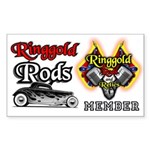 Ringgold Rods Sticker
