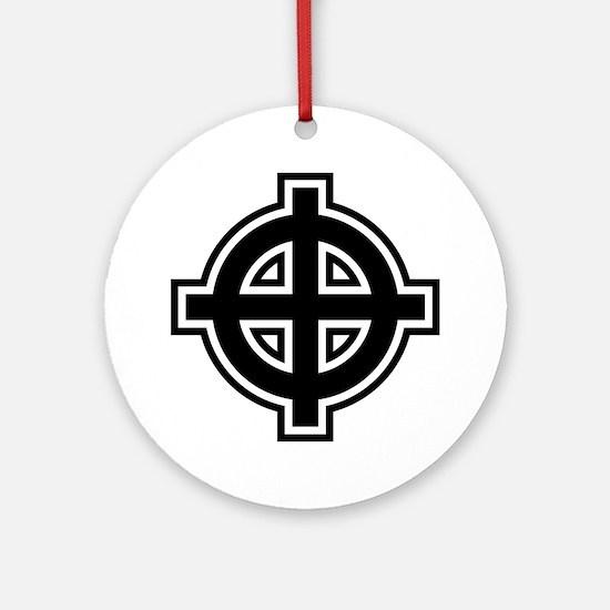 Unique Fascist Round Ornament