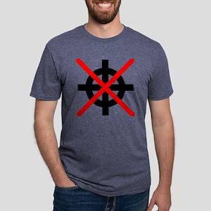 Antifa Antifascism Antifasc Mens Tri-blend T-Shirt