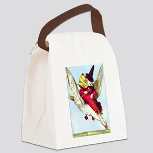 Old Mother Goose Canvas Lunch Bag
