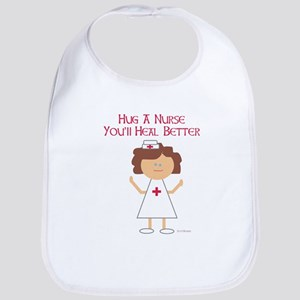 Hug a Nurse Bib