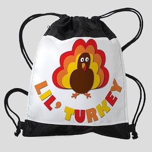 Lil Turkey Drawstring Bag