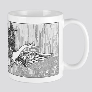 Mother Goose flying Mug