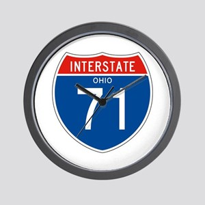 Interstate 71 - OH Wall Clock