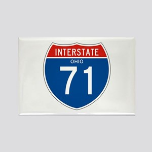 Interstate 71 - OH Rectangle Magnet