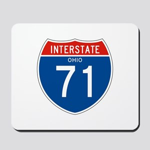 Interstate 71 - OH Mousepad