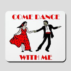 LOVE DANCING Mousepad