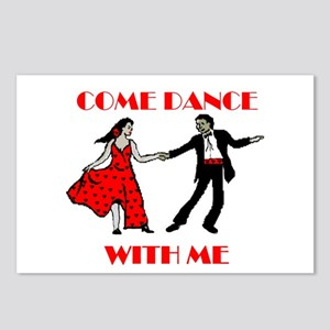 LOVE DANCING Postcards (Package of 8)