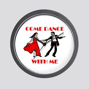 LOVE DANCING Wall Clock